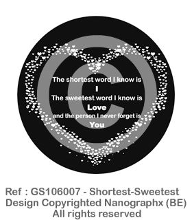GS106007 - Shortest-Sweetest