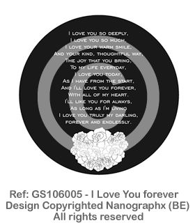 GS1060014 - I Love You forever