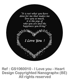 GS1060010 - I Love you - Heart
