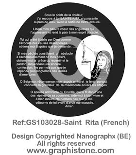 06 GS103028-Saint  Rita French