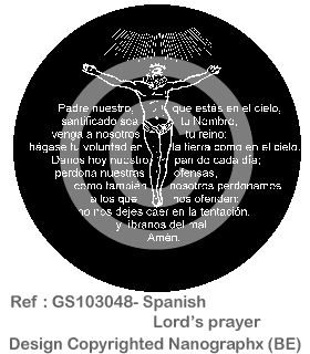 07-GS103048-Spanish Lord's prayer